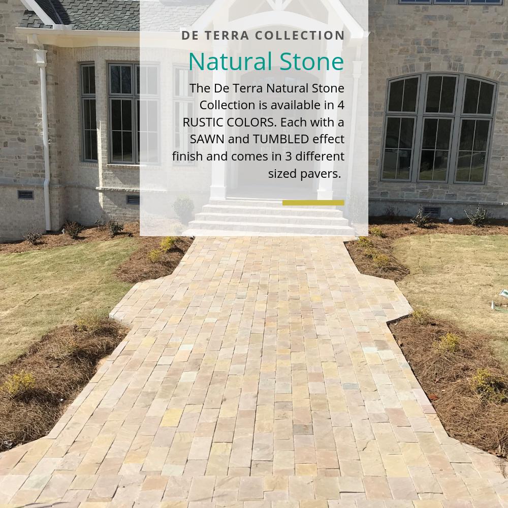 De Terra Stone Pathway Pavers