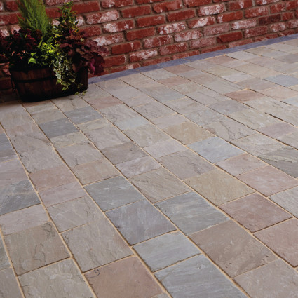 DRIVEWAY PAVERS - 'De Terra' Lakeland-Natural Sandstone with an Aged Finish