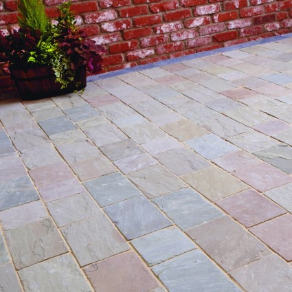 PATH PAVERS - 'De Terra' Lakeland-Natural Sandstone with an Aged Finish