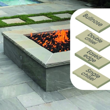 WALL COPING - 'Classicstone' Promenade-Natural Sandstone with a Cleft Surface & Choice of Edge