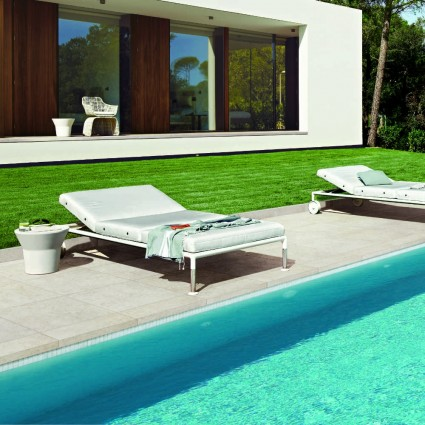 PATIO PAVERS - 'Vitripiazza' Tempesta-Porcelain with a Natural Stone Appearance